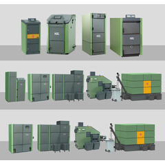 HDG all Biomass boiler models