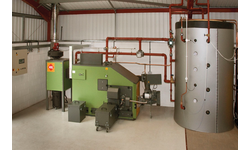 HDG Compact 200 wood chip boiler